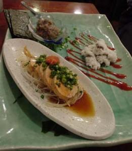魚金「酒肴3点盛り」